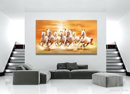 horse canvas wall art horse running landscape white horse canvas painting home decor canvas wall art picture digital art print for living room from shadow  on shadow rider horse canvas wall art with horse canvas wall art horse running landscape white horse canvas