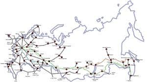 Железнодорожный транспорт в России Википедия