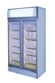 glass door display fridge