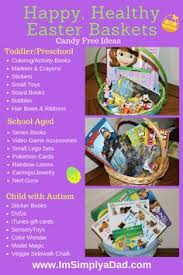 healthy easter basket ideas for toddlers. autism and allergy easter guide to a happy, healthy non candy baskets basket ideas for toddlers