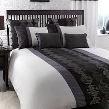 pictures gallery of black white grey duvet covers