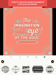 Quote Maker App Enchanting quote design maker Holaklonecco