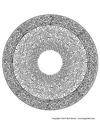 Small Picture 15 Images of Difficult Mandala Coloring Pages Nature Celtic