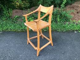 Mid Century Modern Furniture La Delectable Mid Century Modern Bar Stool Counter Stool Hand Carved Etsy