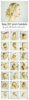 it s quite easy to do prom hairstyles