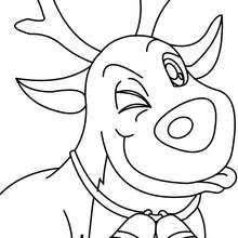 Small Picture SANTAS REINDEER coloring pages 22 Xmas online coloring books