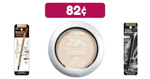 this is a great way to pick up new makeup head to cvs and snag 0 82 l oréal cosmetics thru 6 23 bine the 10 30 cosmetics app only savings coupon