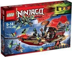 LEGO NINJAGO 70738 - letzte Flug des Ninja-Flugseglers: Amazon.de: Spielzeug