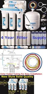 Home Reverse Osmosis Drinking Water System Water Filters 116400 5 Stage Reverse Osmosis Drinking Water