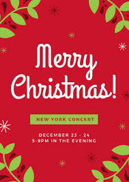 Christmas Flyer Templates Christmas Flyers Magdalene Project Org