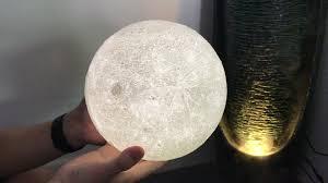 2017 16colors 3d led magical moon night light white moonlight table desk moon 3d night lamp