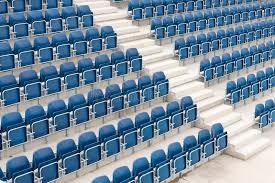 tennis court seating
