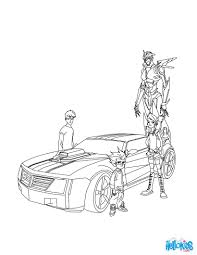 Transformers Kleurplaten Free Coloring Pages Of Strong Arm