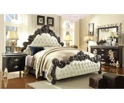 white victorian bedroom furniture. hds hd1208 victorian grand design white leather bed with decorative wood trims and casegoods bedroom furniture i