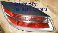 saturn sky headlight tail light covers made to fit saturn sky 07 08 09 fiberglass tail light covers fits saturn sky