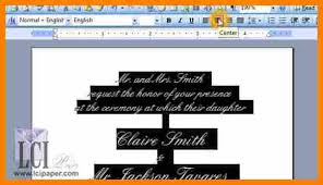 7 Creating An Invitation In Microsoft Word Grittrader