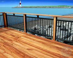 Metal deck railing ideas Wrought Iron Diy Deck Railing Ideas Designs Pictures From Wood Metal Cable Alumunium Fiberglass Pinterest 86 Best Deck Railings Images Banisters Deck Railings Decking
