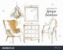 furniture sale ads. Delighful Furniture Set Of Hand Drawn Furniture And Interior Detail Store Apartment  Promotion Sale In Furniture Sale Ads D