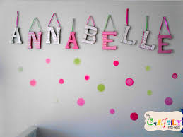 Decorations:Chic Wooden Letters Baby Name For Nursery Beautiful Nursery  Letters Decorating Ideas