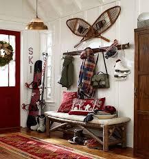 pottery barn bench style office desk rustic. Best 25 Ski Decor Ideas On Pinterest Mountain Shelf Throughout House Prepare 0 Pottery Barn Bench Style Office Desk Rustic