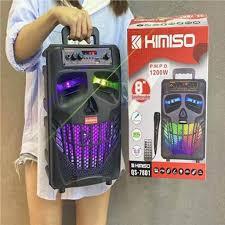 Loa Kéo Karaoke Bluetooth Kimiso QS-7801 Kèm điều khiển Tặng 1 micro có dây  Nghe Cực Hay - Hàng Nhập Khẩu -4385- - Loa kéo