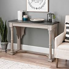 espresso entryway table. kristen charcoal and cream console table espresso entryway