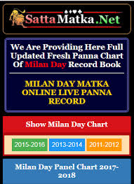 Golden Matka Penal Chart We Provide Milan Day Panel Chart Daily You Can Find All Old