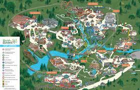 busch gardens williamsburg spring map