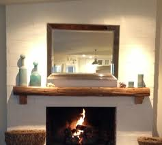 reclaimed wood fireplace mantel chic mantels building materials