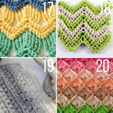 Afghan Stitch Patterns