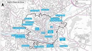 Bath Clean Air Zone goes live | Motoring Research