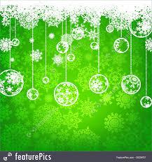 Illustration Of Beautiful Green Happy Christmas Eps 8