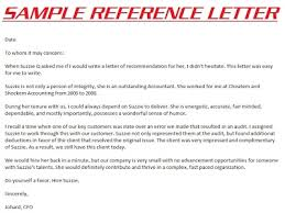 Sample Personal Reference Letter For A Friend Recommendation Letter
