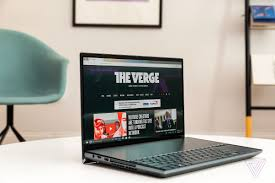 Laptop Screen Size Comparison Chart Asus Zenbook Pro Duo Review Two Screen Dream The Verge