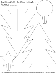 Card Sized Paper Christmas Tree Template - | 3d paper, Free ...