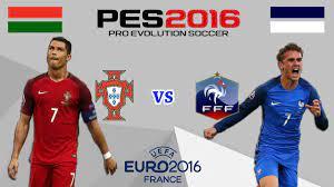 البرتغال ضد فرنسا ! | نهائي كأس امم اوروبا - اليورو 2016 !