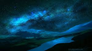 Clusters of stars, nature, landscape ...