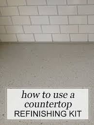 this is not a sponsored post nor does it contain any affiliate links it s purely an unbiased review and great advice how to use a countertop refinishing
