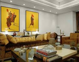 Contemporary living room with Recessed Lighting Home Interiors