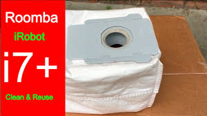 Empty & Reuse <b>iRobot Roomba</b> i7+ <b>Vacuum Bags</b> - YouTube