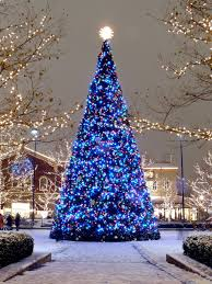 Columbus Ohio Tree Lighting Blue Christmas Christmas At Easton Town Center Columbus