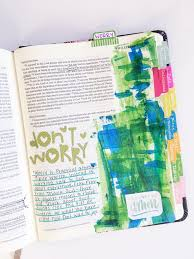 Small Picture Everything you wanted to know about Bible Journaling Katie The
