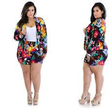 plus size short sets other 2piece plus size short and blazer set poshmark