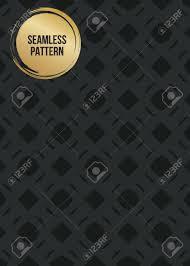Abstract Begrip Vector Monochroom Geometrische Patroon Donkerblauwe