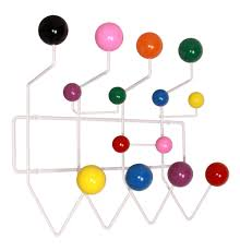 Herman Miller Coat Rack Replica Eames HangItAll by Charles and Ray Eames Matt Blatt 52