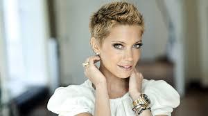 Tapety Tvář Model Portrét Blondýnka Dlouhé Vlasy Krátké Vlasy