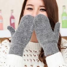 Женские <b>двухслойные перчатки</b> YGYEEG, зимние однотонные ...