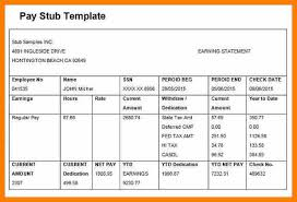 paycheck stub sample free 9 pay stub samples templates pay stub format