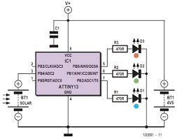 rgb solar lamp schematic diagram wiring rgb solar lamp circuit diagram