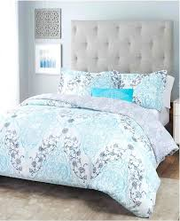 nicole miller duvet cover covers object damask reversible bedding 5 piece full queen home set white